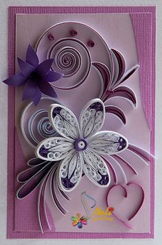 neli: Unpublished quilling cards