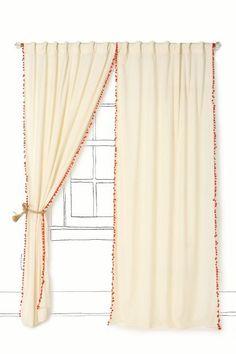 Toorie Curtain - anthropologie.com
