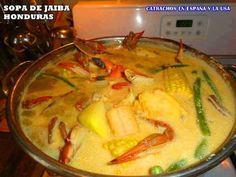 Sopa de jaibas ( crabs soup) hmmmmm.
