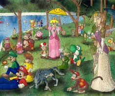 A Sunday Afternoon on the Island of La Grande Jatte: Nintendo