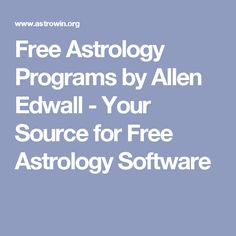 12 Best Free Astrology Software Download images in 2019 | Free
