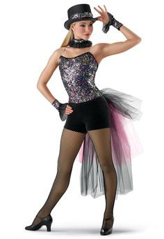 Confetti Sequin Jazz Leotard; Weissman Costumes (piece of me)