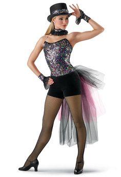 Confetti Sequin Jazz Leotard; Weissman Costumes (piece of me)