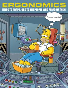 Simpsons safety posters can really come in handy while at work HQ photos) Health And Safety Poster, Safety Posters, Office Safety, Workplace Safety, Safety Work, Homer Simpson, Safety Slogans, Safety Quotes, Safety Training