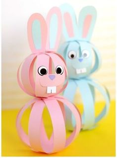 Stunning Easy Paper Bunny Craft Easter Idea For Kids Easy Peasy . stunning Easy Paper Bunny Craft Easter Idea For Kids Easy Peasy easy paper crafts for kids - Paper Crafts Easy Easter Crafts, Easter Art, Paper Crafts For Kids, Easter Eggs, Easter Decor, Paper Easter Crafts, Simple Kids Crafts, Colorful Crafts, Easter Crafts For Adults
