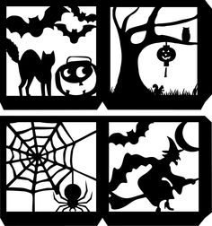 4 sided Halloween Lantern.svg - File Shared from Box