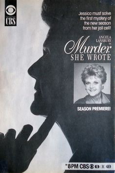 Murder, She Wrote (1984-96, CBS) starring Angela Lansbury as 'Jessica Fletcher'