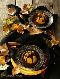 Budini di Zucca con Salsa di Cioccolato alla Cannella Sweet Corner, Foto Blog, Cooking Time, Nutella, Sweet Recipes, Good Food, Food And Drink, Chocolate, Halloween