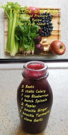 The One and Only High Blood Pressure Juice Recipe You'll Ever Need! Included are. - The One and Only High Blood Pressure Juice Recipe You'll Ever Need! Included are. The One and Only High Blood Pressure Juice Recipe You'll Ever Need. Raw Juice Cleanse, Juice Cleanse Recipes, Healthy Juice Recipes, Juicer Recipes, Healthy Detox, Healthy Juices, Healthy Smoothies, Healthy Drinks, Smoothie Recipes