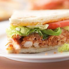 BBQ Ranch Chicken Sandwiches from the Better Homes and Gardens Must-Have Recipes App