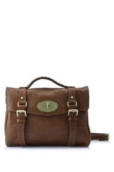 9a6e772a79 Mulberry Alexa Colour: Oak (Designer Color) Material: Soft Printed Veg Tan  Leather