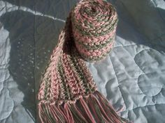 Free Simple and Beautiful Crochet Scarf Pattern