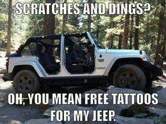 jeep tattoo meme - Google Search