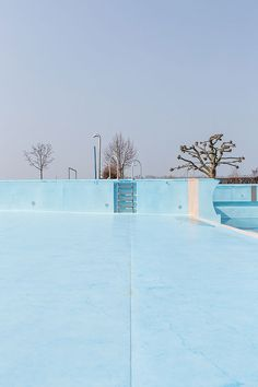 """definitelydope: """"Drowning In An Empty Pool Robert Götzfried """" Empty Pool, Blue Neighbourhood, Futuristic Art, Summer Pool, Urban Life, Blue Tones, Spring Day, Outdoor Photography, Photo Archive"""