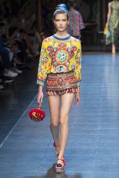 Défilé Dolce & Gabbana Printemps-été 2016 39
