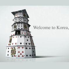 Visit Korea : Card Building