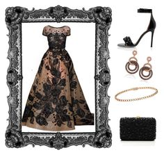 """""""Outfit # 2678"""" by voltinimiriam ❤ liked on Polyvore featuring Givenchy, Elie Saab, Suzy Levian and Cartier"""