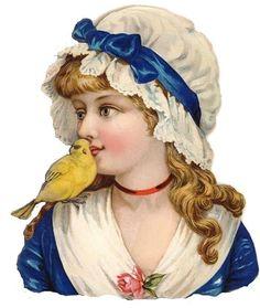 Glanzbilder - Victorian Die Cut - Victorian Scrap - Tube Victorienne - Glansbilleder - Plaatjes : Kinder