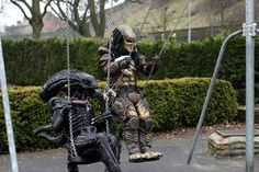 Alien Loves Predator UK & The 51 best Cosplay - Aliens u0026 Predators images on Pinterest | Alien ...