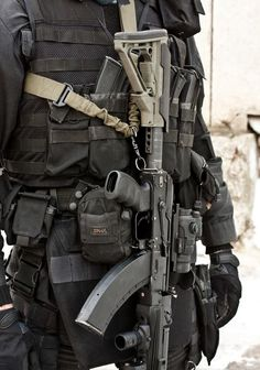 Russian SF great set up with the LHV-L Hand guard & the AG-47 pistol grip