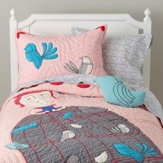Madame Aviary Quilt  | The Land of Nod