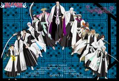 Akatsuki by on DeviantArt Tailed Beasts Naruto, Bleach Captains, Kubo Tite, Kenpachi Zaraki, Bleach Pictures, Bleach Manga, Anime Japan, Shinigami, Movie Wallpapers
