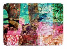 Abstract by AlyZen Moonshadow Memory Foam Bath Mat