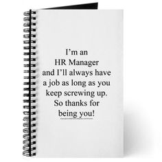 Humorous Slogan Human Resources Department Print   Poster