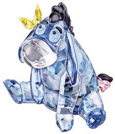 Swarovski Disney Figurine - Eeyore - Precious Accents