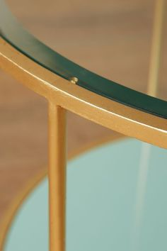 lacquered table anthropologiecom close up painted brass or steel anthropologie style furniture