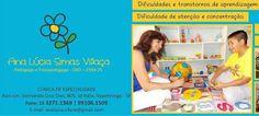 CLÍNICA DE ESPECIALIDADE Pedagoga e Psicopedagoga