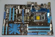 159.00$  Watch now - http://ali8nc.worldwells.pw/go.php?t=32782437943 - P7P55D-E Deluxe Desktop board P55 LGA 1156 support USB3.0 Sata6.0 tested working 159.00$