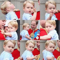 July 13, 2015 - Prince George at Trooping the Colour