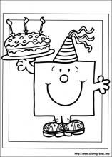 Mr. Men coloring pages on Coloring-Book.info