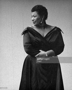 Photo d'actualité : American Jazz singer Ella Fitzgerald. About 1960....