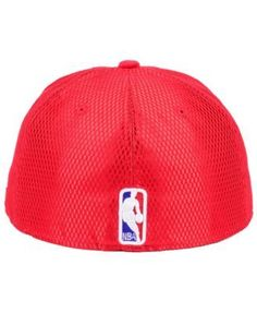 New Era Houston Rockets On-Court Collection Draft 59FIFTY Fitted Cap - Red 7 3/8