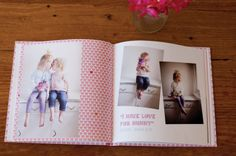 Bronwyn Smart created this stunning Photobook to capture the inspiring and funny quotes of her three beautiful girls, Jemma, Abbey and Frankie, and to display the many photos she's captured over the years.