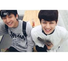 Chanwoo and Yunhyeong #iKon