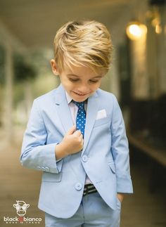 74e799568c66a2 Our first class slim fit suit in light blue is