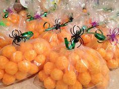 cheese ball pumpkins | Kids Halloween Party Snack - Cheese ball Pumpkins | Holiday Ideas