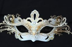 Hey, I found this really awesome Etsy listing at http://www.etsy.com/listing/159788484/on-sale-masquerade-mask-venetian-white