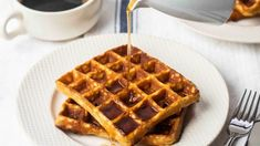 breakfast Archives Related to Keto Diet | KETO-MOJO Breakfast Waffles, Breakfast Recipes, Keto Waffle, Appetizers For Party, Low Carb Keto, Food Print, Keto Recipes, Tasty, Gourmet