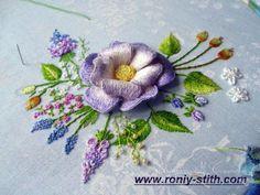 (5) Gallery.ru / Фото #1 - объемная вышивка образцы из нета - semynova