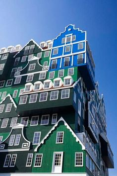 Stacked Houses:  New Hotel in Amsterdam by WAM   — Dezeen Like this.