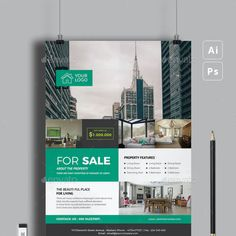 Presentation Magazine, Annual Report Covers, Real Estate Flyer Template, Real Estate Flyers, Brochure Layout, Marketing, Business Brochure, Layout Design, Templates
