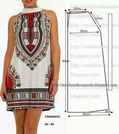 Haslett trapeze dress or top