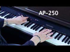 Casio AP250 Celviano Digital Piano - video