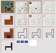 How to draw a house like an architects blueprint pinterest minecraft modern house blueprints layer by layer ile ilgili grsel sonucu malvernweather Choice Image