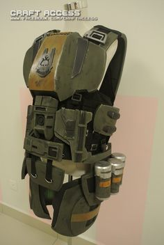 Halo ODST armor by CraftAccess on DeviantArt