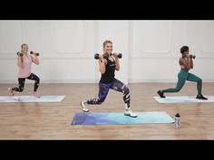 HIIT is a quick, yet effective, way to establish a lasting workout regime. The next time you need a good sweat, give these HIIT workout videos a try! Fitness Workouts, Full Body Hiit Workout, 30 Minute Workout, Cardio Workouts, Workout Diet, Workout Plans, Monthly Workouts, Cardio Kickboxing, Exercise Plans